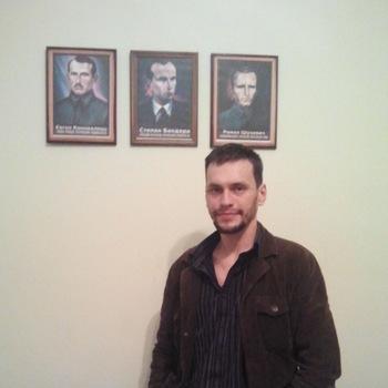 De Rechtse Sector van Lviv